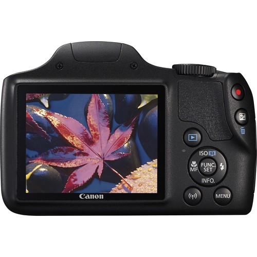 Canon - PowerShot SX540HS 20.3-Megapixel Digital Camera - Black