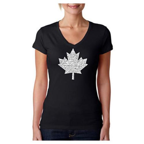 Los Angeles Pop Art Canadian National Anthem Graphic T-Shirt