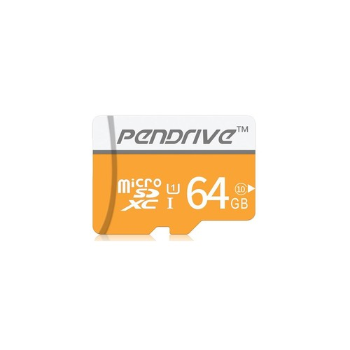 64GB Micro SDXC UHS-I Memory Card with Adapter
