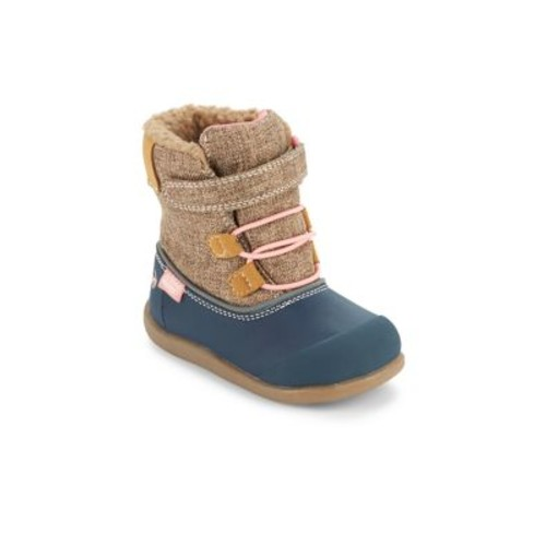 Baby's & Toddler's Faux Shearling Waterproof Boots