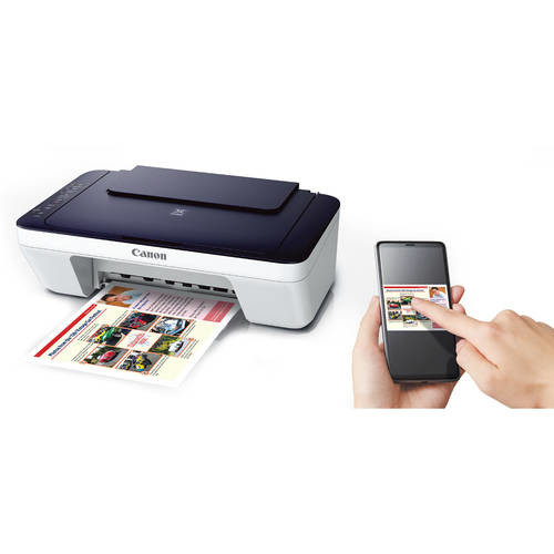 Canon PIXMA MG3022 Wireless Inkjet All-in-One Printer, 8 ipm Black, 4800x600 Color, - Print, Copy, Scan [Printer Only]