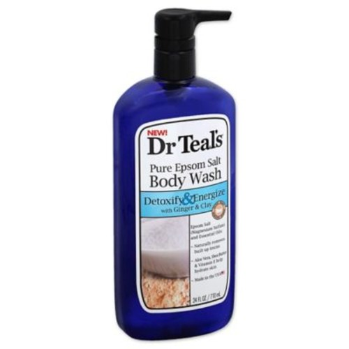Dr. Teal's Detoxify & Energize 24 oz. Pure Epsom Salt Body Wash with Ginger & Clay