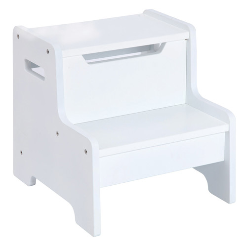 Guidecraft Expressions Step Stool: White