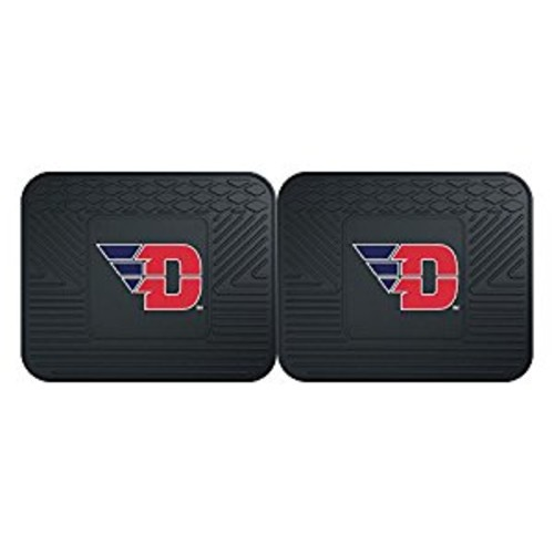 Fanmats 13229 University of Dayton Flyers Rear Second Row Vinyl Heavy Duty Utility Mat, (Pack of 2)
