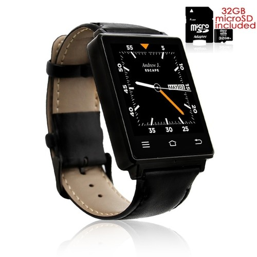 Indigi 2017 GSM UNLOCKED! Android 5.1 OS SmartPhone&Watch (3G + WiFi + Bluetooth 4.0 + Heart Rate Sensor) + Bluetooth Headset