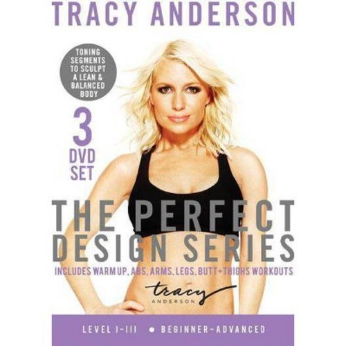 Tracy Anderson: The Perfect Design Series - Level I-III [3 Discs]
