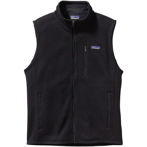 Patagonia Men's Better Sweater Vest [Black-BLK,Medium]