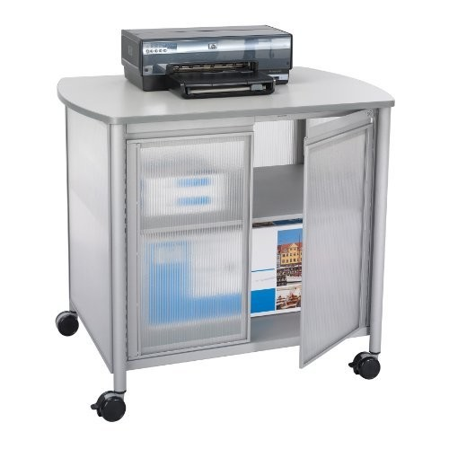 Impromptu Deluxe Machine Stand with Doors by Safco