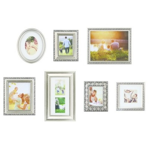 Picture Frame Kit Champagne 7pk - Gallery Solutions