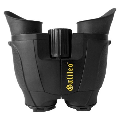 Galileo 8x22mm Compact Roof Prism Binoculars - Black