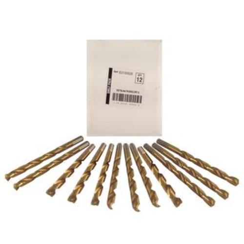 Disston Tool BLU-MOL 9/32 inch Titanium Drill Bits (Pack of 12)