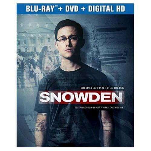 Snowden (Blu-ray + DVD + Digital)