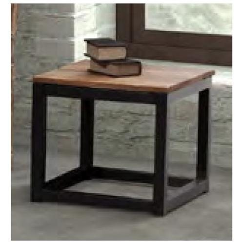 Civic Center Side Table in Distressed Natural by Zuo Era