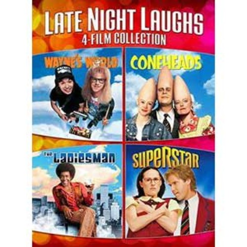 e Night Laughs 4-Film Prt59185307000Dvd/Comedi