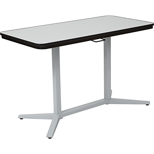 Pro-Line II Pneumatic Height Adjustable Table, White