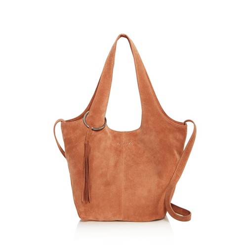 ELIZABETH AND JAMES Finley Small Suede Tote