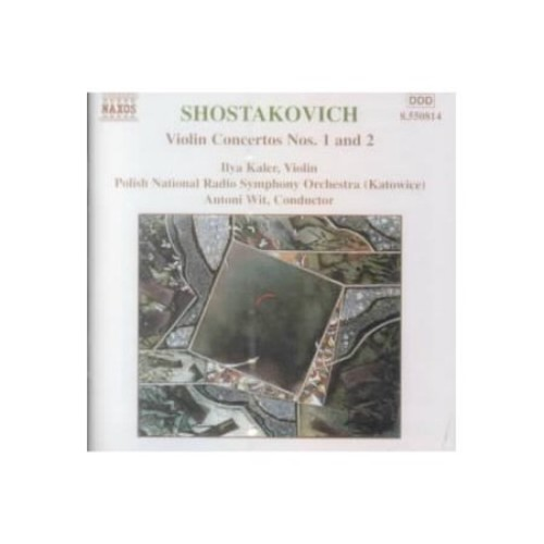 Shostakovich: Violin Concertos Nos. 1 & 2 [CD]