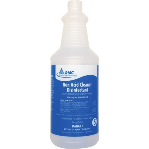 RMC Non-Acid Clnr Spray Bottle - 1 / Each - Frosted Clear - Plastic