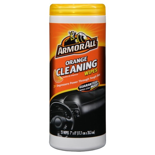 Armor All Orange Cleaning Wipes - 25 ct.