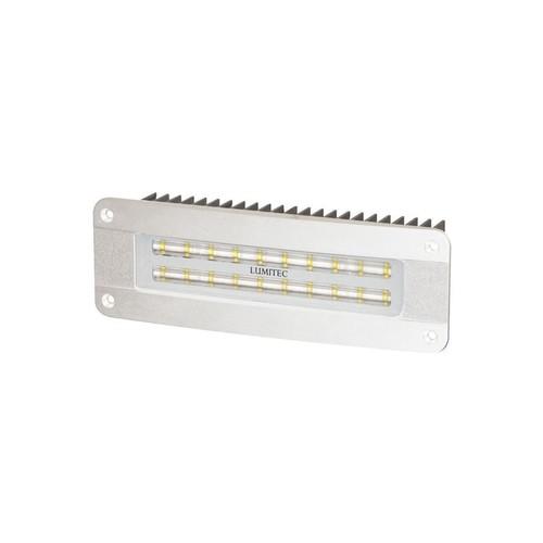 Lumitec Maxillume2 High Power/Flush Mount Wide Oval Flood Light - White Housing - White Dimming Light - Origin