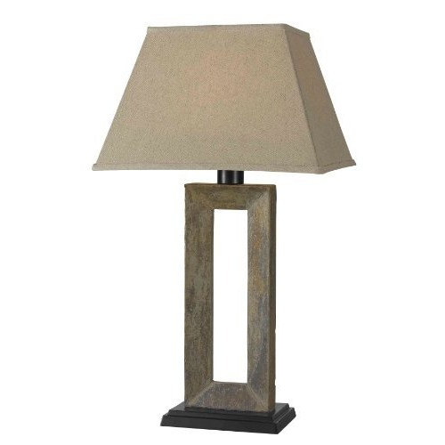 Kenroy Home 30515SL Egress Outdoor Table Lamp [FURNITURE]