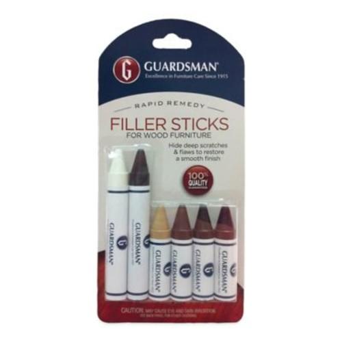 Guardsman 6-Piece Wood Repair Filler Sticks Set