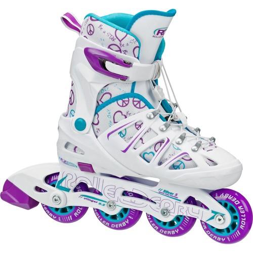 Roller Derby Girls' Stinger Adjustable Inline Skates