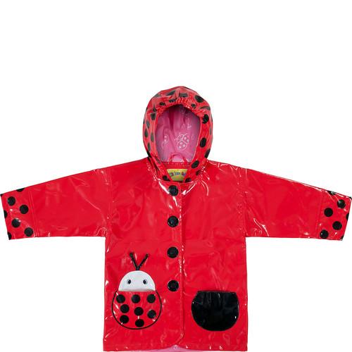Kidorable Ladybug All-Weather Raincoat