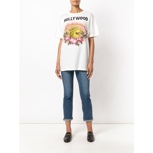 GUCCI Leopard Motif T-Shirt