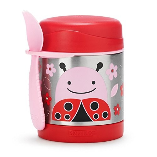 SKIP*HOP Zoo 11 oz. Insulated Food Jar in Ladybug