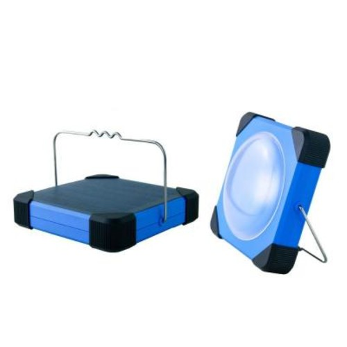 eLEDing 180 Degree Solar Portable LED Lantern with USB Mobile Charger and Power Bank for Wide Variety of Usage