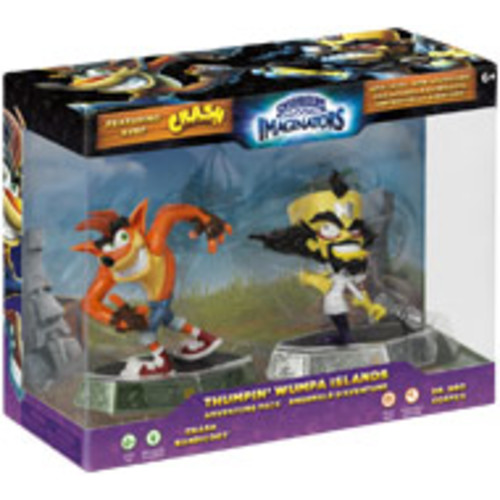 Skylanders Imaginators Crash Bandicoot Thumpin' Whumpa Islands Adventure Pack