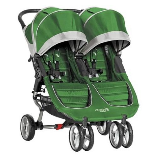 Baby Jogger City Mini Stroller - Double - Evergreen / Gray