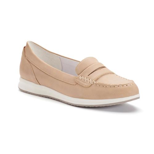 Croft & Barrow Women's Moc-Toe Penny Loafers