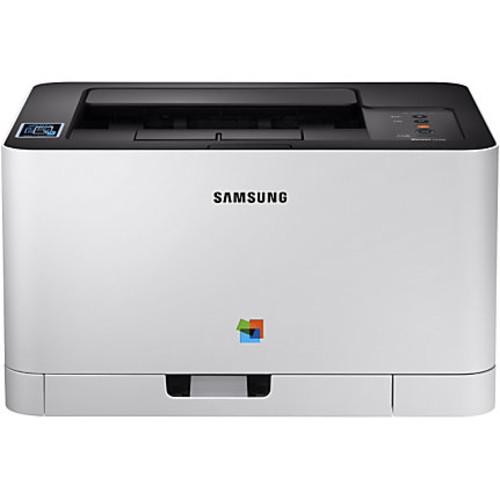 Samsung Xpress SL-C430W Laser Printer - Color - 2400 x 600 dpi Print - Plain Paper Print - Desktop