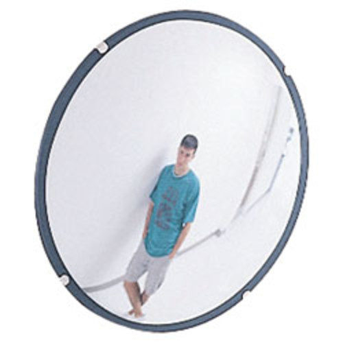 See-All Round Glass Convex Mirror, 36