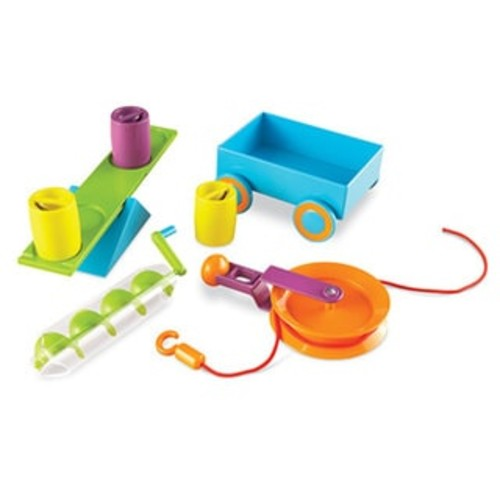 Learning Resources STEM Simple Machines Activity Set - STEM Simple Machines Activity Set
