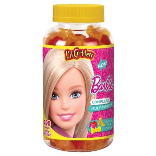 L'il Critters Barbie Multivitamin Dietary Supplement Gummies - 190ct