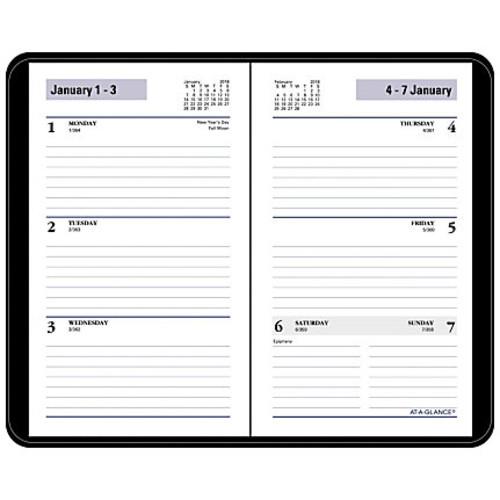 AT-A-GLANCE DayMinder Weekly Pocket Planner, 6 1/16
