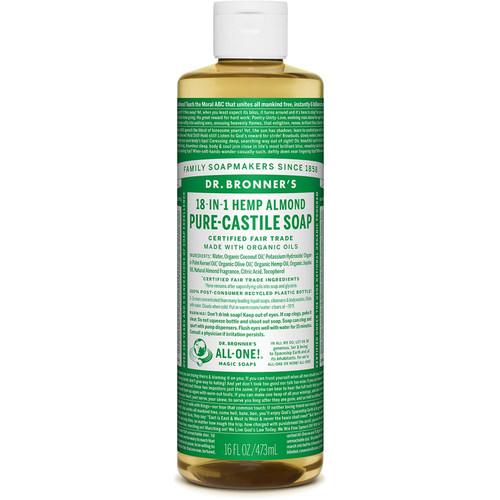 Almond Pure-Castile Liquid Soap