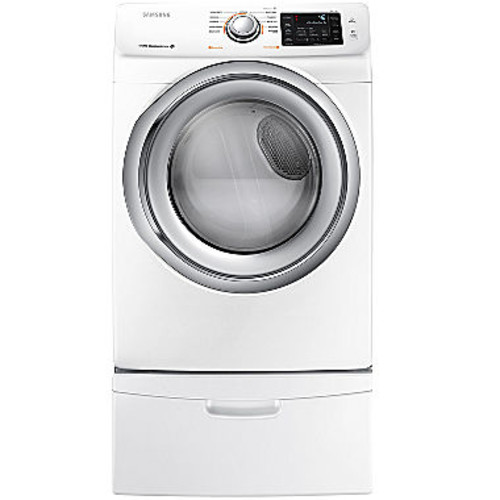 Samsung - 7.5 Cu. Ft. 11-Cycle Steam Gas Dryer - Platinum