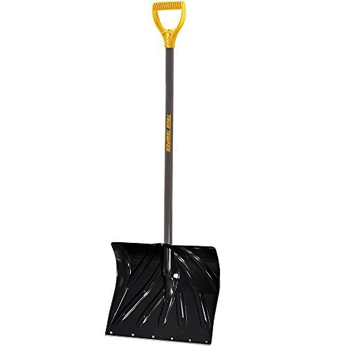 True Temper 18-Inch Poly Combo Snow Shovel - 1627200 [18-Inch Poly Blade Combo]