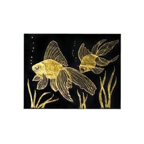 Melissa & Doug Scratch Art Gold and Silver Foil Paper - 50 Sheets Plus Wooden Stylus