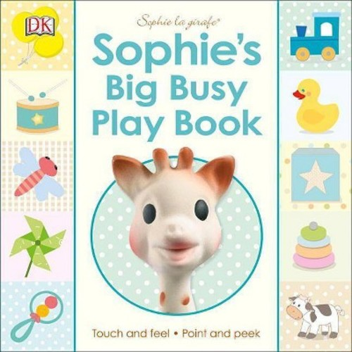 Sophie La Girafe : Sophie's Big Busy Play Book (Hardcover)