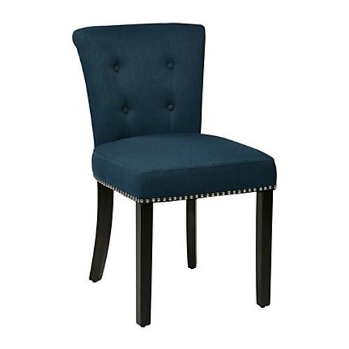 Ave Six Kendal Chair, Klein Azure/Light Brown/G