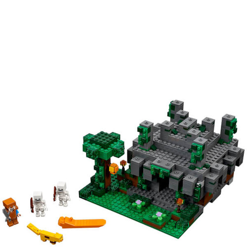 LEGO Minecraft: The Jungle Temple (21132)
