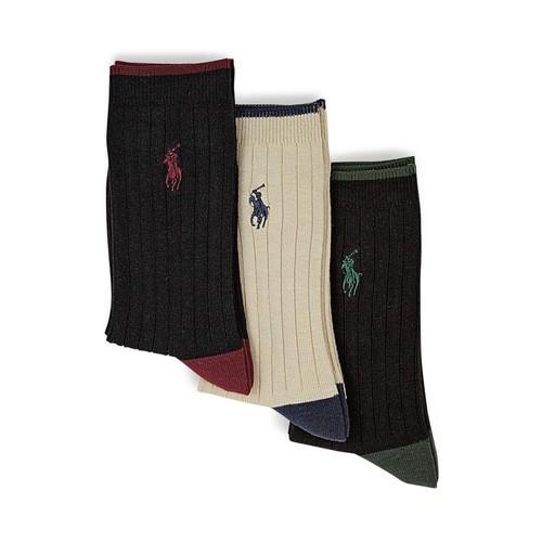 Boys' Rib Dress Socks, 3 Pack - Little Kid, Big Kid