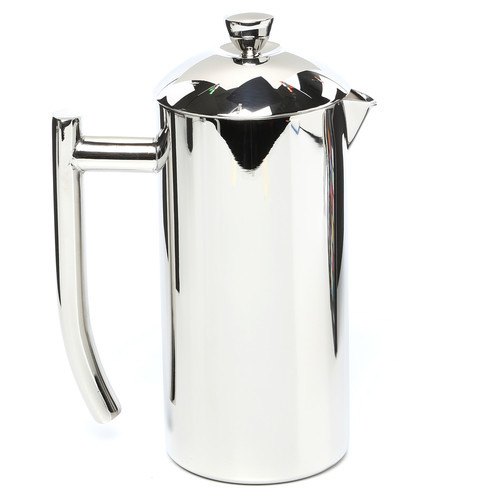 Frieling USA Double Wall Stainless Steel French Press Coffee Maker with Patented Dual Screen in Frustration Free Packaging, Polished 17-Ounce [Polished, Frustration-Free Packaging, 17 Ounce]