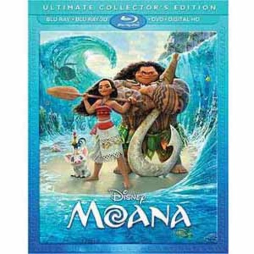 Moana [Blu-Ray] [DVD] [Digital HD]