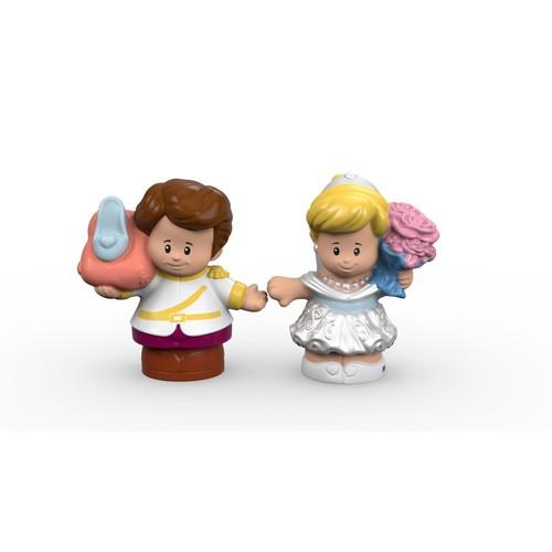 Disney Princess Cinderella & Prince Charming By Little People